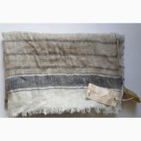 Брендовый льняной шарф scotchsoda, нидерланды, 200х80