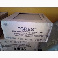 Плитка напольная Грес Артем 300*300*7, 5 S 0001 серый матовый