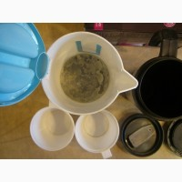 Дорожный чайник Maxwell MW-1030В 0, 5л + 2 термокружки 0, 5+0, 75л б/у
