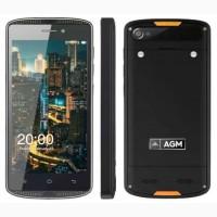 Защитный AGM X1 Mini 2 сим, 5 дюймов, 4 ядра, 16 Гб, 8 Мп, 4000 мА/ч, IPS, IP68