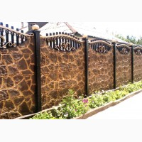 Пропаренный бетонный забор (Еврозабор) Всегда В НАЛИЧИИ на складе
