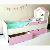 Крутая кровать для маленькой принцессы)