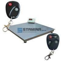 Платформенные весы с пультом 1000х1000мм - 1500х1500мм/ 500 кг – 2 тонны