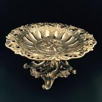 Фруктовница, конфетница Stilars 559 латунь Италия