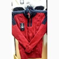 Мужской тёплый свитер, Турция, размеры 48 - 56 цвета разные - L 1120