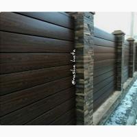 Купити металевий паркан власного виробництва