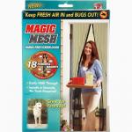 Антимоскитная магнитная шторка Magic Mesh, Москитная сетка
