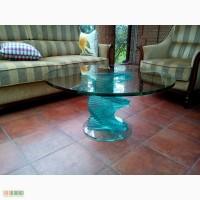Стеклянные столы на заказ