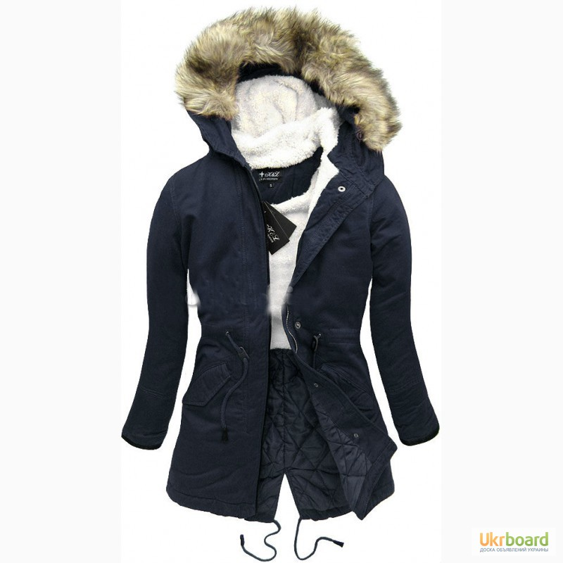 Фото к объявлению  зимняя женская куртка-парка 7625aec4b2893
