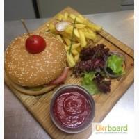 Доска для подачи сервировочная Бургер