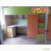 Кровать-чердак с рабочей зоной (кл5-2) Merabel