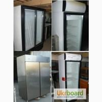 Продам личные холодильные шкафы бу для ресторана кафе бара столовой магазина