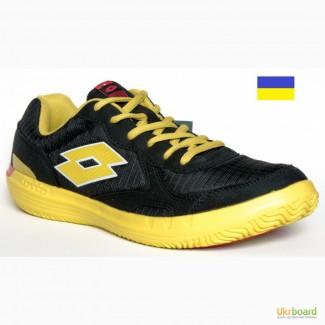 280 мм Lotto Quaranta IV теннисные кроссовки мужские черные лёгкие