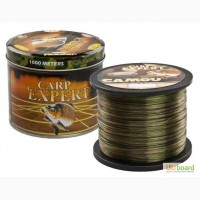 Леска Carp Expert Camou 1000 м 0.25мм, 0.3мм, 0.35мм, 0.4мм