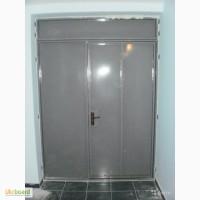 Междуэтажные, тамбурные перегородки, металлические двери в подъезд