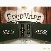Механический мод Vgod Pro Mech + RDTA Kit (Черный) Clone