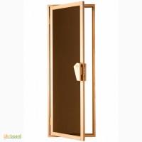 Дверь в баню, сауну стеклянная UNO от компании Tesliв Харькове