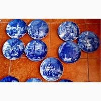 Продам Рождественские, Пасхальные, кобальтовые тарелки производства Германии