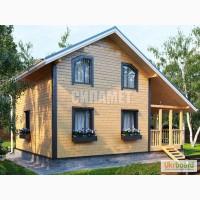 Каркасное строительство дома, дачные домики, коттеджи