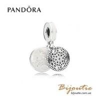 PANDORA шарм-подвеска йога ― 796205EN23 Пандора