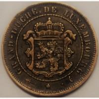 Люксембург, 2 1/2 сантима 1901 год СОСТОЯНИЕ