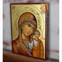 Казанская икона Божией Матери рукописная 18×24 см