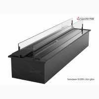 Биокамины Slider color glass ТМ Gloss Fire