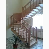 Сходи бетонні на боковому косоурі (безпідпорні)
