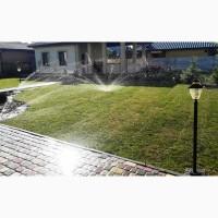 Монтаж систем автоматического полива и ландшафный дизайн