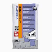 VICOLITH ACRYLIC FLEX white Эластичный клей для плитки