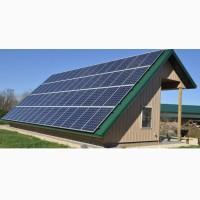 Сетевая солнечная электростанция мощностью 10 кВТ