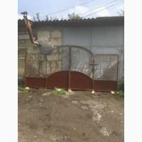 Ворота кованые с калиткой готовые.Ворта ковані з фірткою готові
