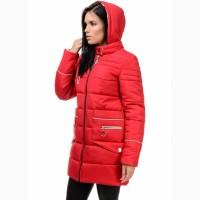 Стильная зимняя куртка Ирма, размеры 42-48, пять цветов, опт и розница - D239
