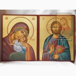 Венчальные иконы рукописные