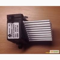 Ёжик печки БМВ, резистор BMW е39, е46, X5, e53, X3, e83 Valeo!Выходной каскад вентилятора