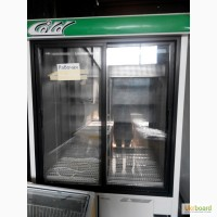 Холодильный шкаф двухдверный БУ, холодильная витрина бу