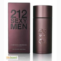 Carolina Herrera 212 Sexy Men туалетная вода 100 ml. (Каролина Херрера 212 Секси Мен)