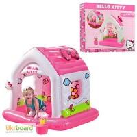 Надувной игровой центр домик Hello Kitty