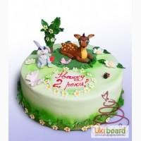 Детский торт Бемби на заказ в Киеве