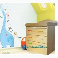 Комод пеленатор из дерева (натурального) Пеленальный комод