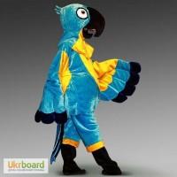 Головной к ростовому костюму попугай Рио