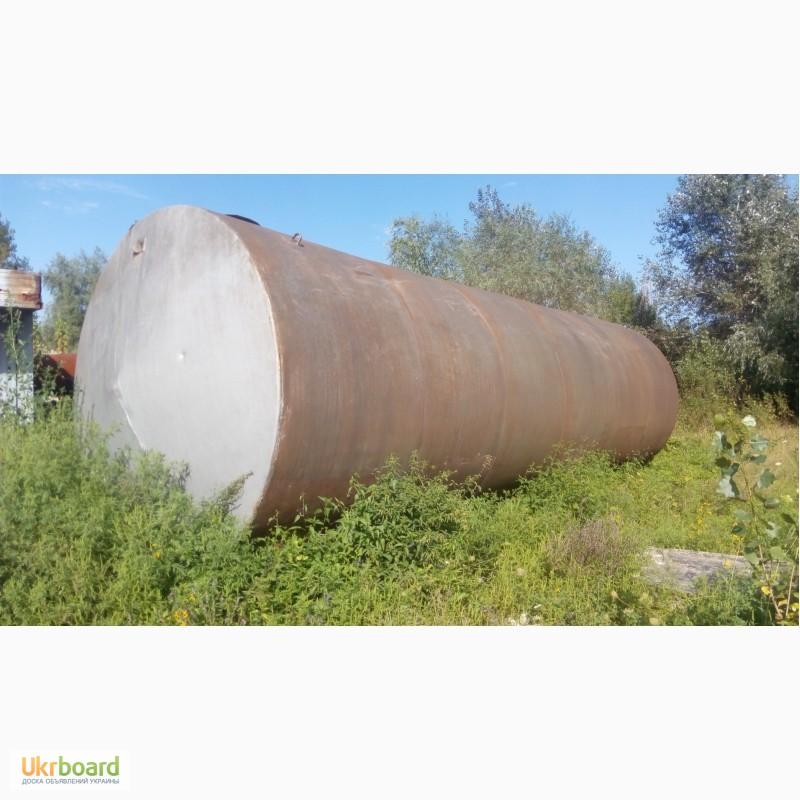 Фото 2. Емкость металлическая б/у для воды, гсм и др