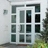 Входные двери металлопластиковые Рехау Rehau от Дизайн Пласт ТМ