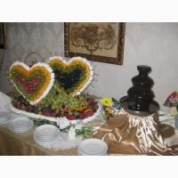 Шоколадные фонтаны и фондю