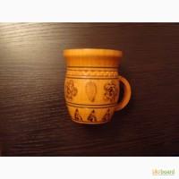 Сувенир Закарпатская деревяная кружка