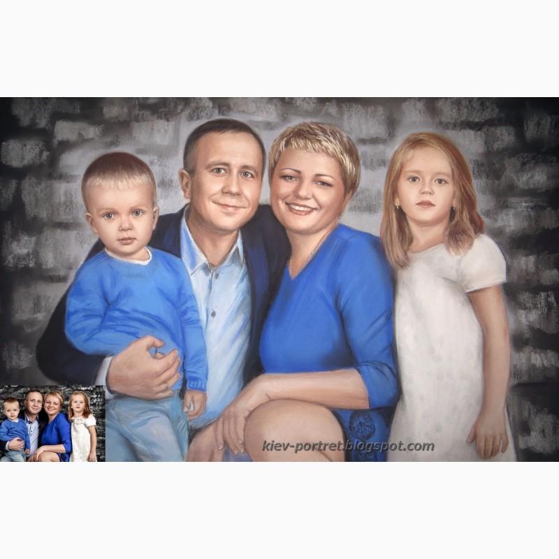 Фото 2. Портрет по фотографии на заказ (Киев и все города Украины)
