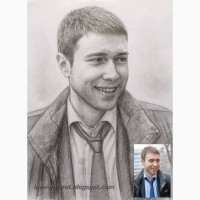 Портрет по фотографии на заказ (Киев и все города Украины)