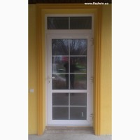 Алюминиевые двери и окна из тёплых серий