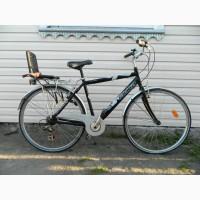 Продам Велосипед Adriatica алюминиевый + детское кресло Италия