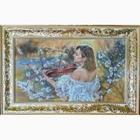 Картина автораМелодия весны-выполнена пастелью - 55Х32